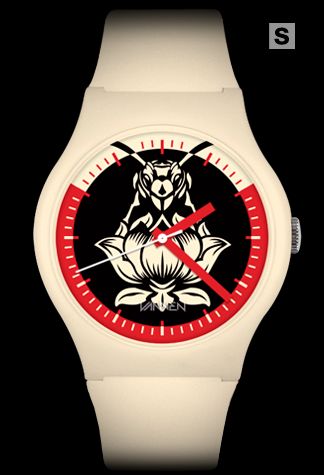 Size small, limited edition Blondie x Shepard Fairey x Vannen Artist Watch