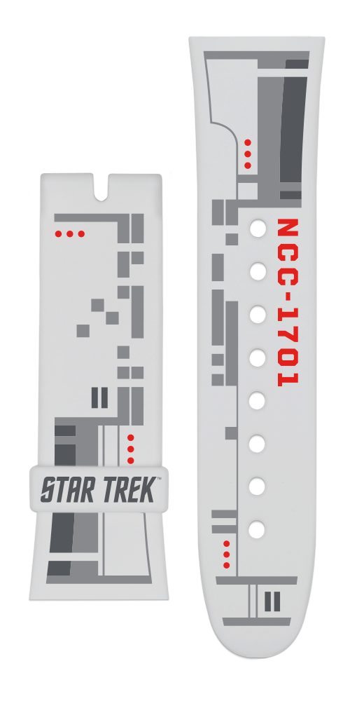 "Vannen x Star Trek ""USS Enterprise"" matte clear strap set"