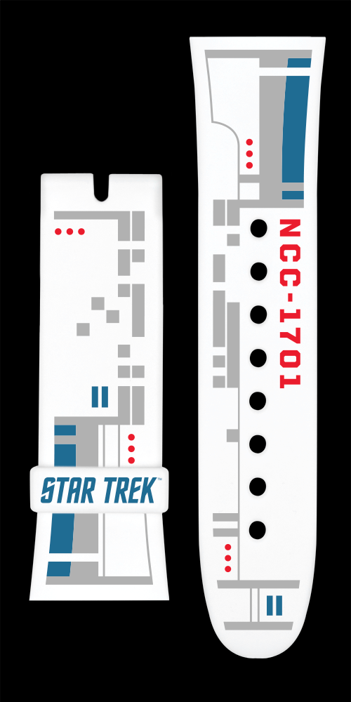 Star Trek: USS Enterprise (white) straps