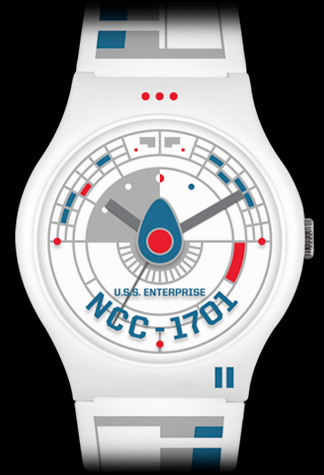 Star Trek U.S.S. Enterprise Vannen Watch (White variant)