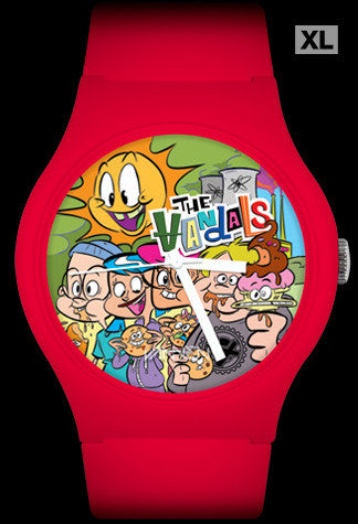 The Vandals Limited Edition Anarchy Burger Vannen Artist Watch