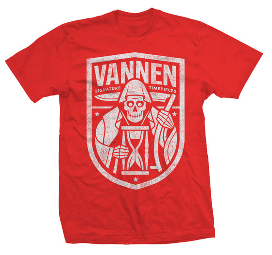 "Vannen Artist Watches Red ""Reaper"" T-Shirt"