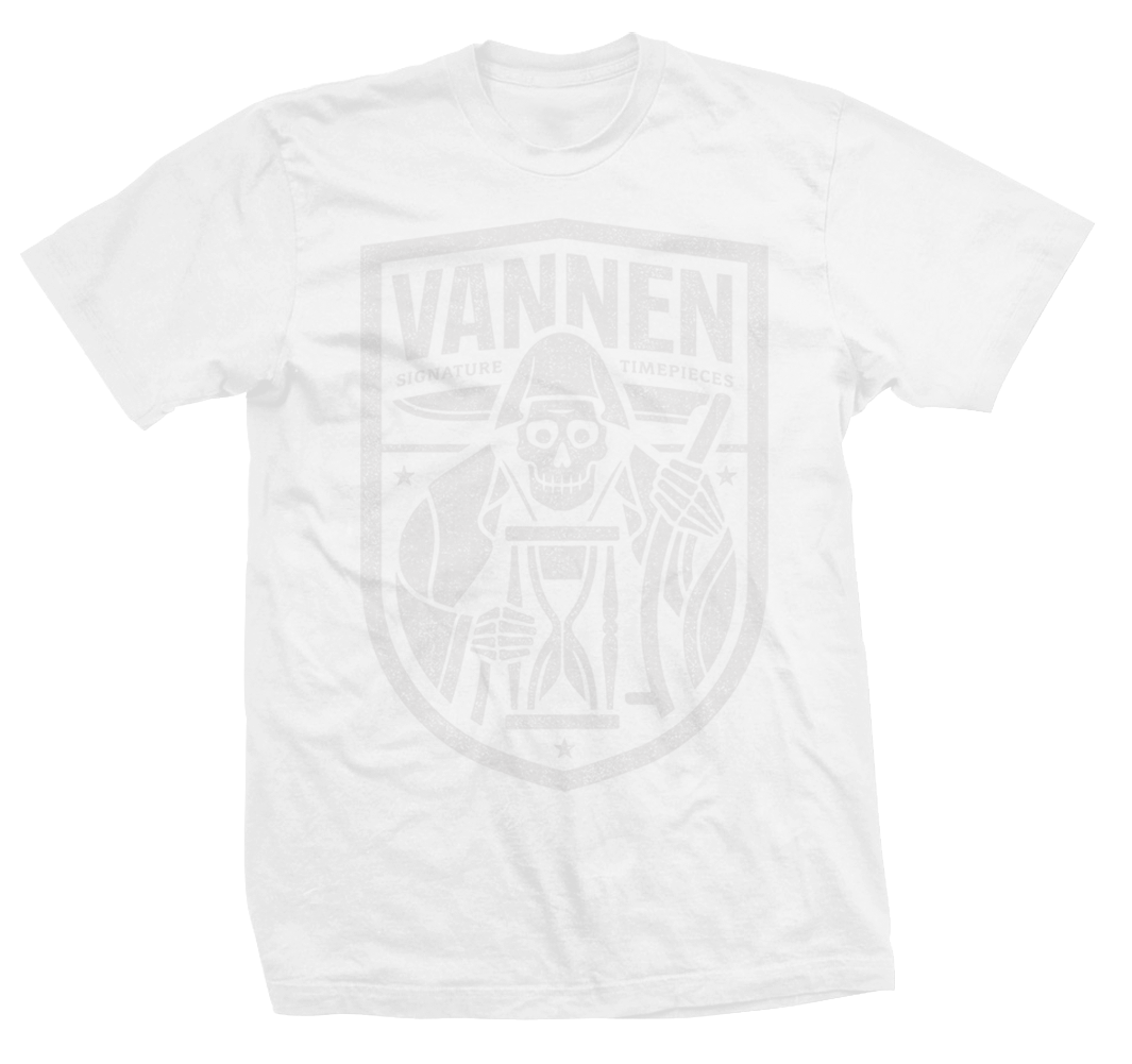 Vannen Artist Watches White 'Reaper' T-Shirt