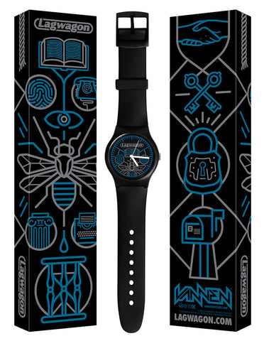 "Limited edition Lagwagon ""Hang Time"" Vannen Artist Watch"