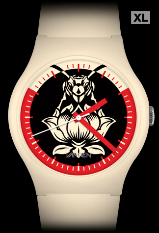 Limited edition Blondie x Shepard Fairey x Vannen Artist Watch