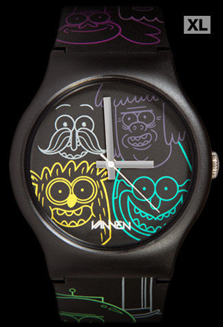Limited Edition Regular Show Blacklight Vannen Watch