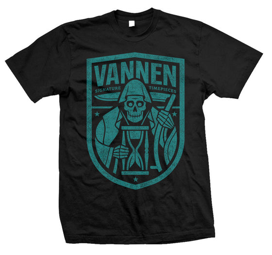 Vannen Watches Teal & Black Reaper T-Shirt