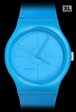 Limited edition CMYK Series CYAN Vannen Artist Watch