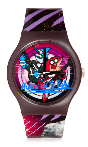 Limited Edition Regular Show Mordecai and The Rigbys Vannen Watch