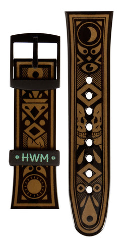 Limited Edition Hot Water Music Vannen Artist Watches Exister Strap Set