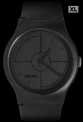 Limited edition CMYK Series BLACK from Vannen Artist Watches