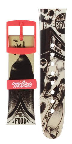 Limited Edition Vannen Artist Watches McBess Strap Set