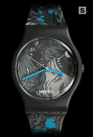 Limited edition Alex Pardee Vannen Artist Watch