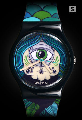 Limited Edition Drew Millward Vannen Artist Watch
