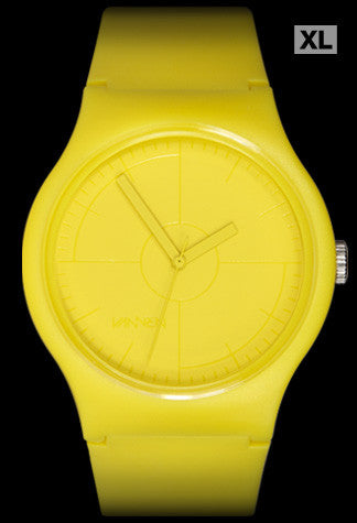 Limited edition CMYK Series YELLOW Vannen Artist Watch