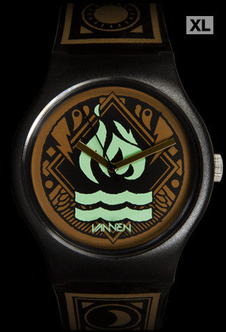 Limited edition Hot Water Music Vannen Artist Watch
