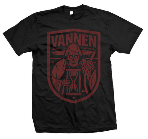 Vannen Watches Red and Black Reaper T-Shirt