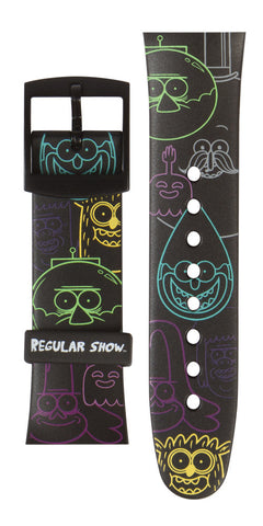 Limited Edition Regular Show Blacklight Vannen Artist Watches Strap Set