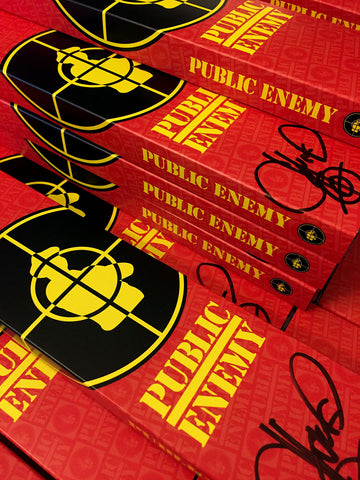 Limited Edition Public Enemy Vannen Artist Watch Packaging Signed by Chuck D.