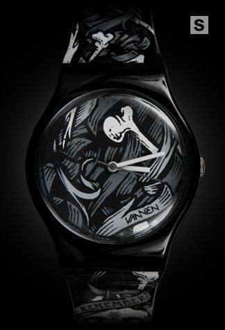 Limited edition Brian Morris Vannen Artist Watch