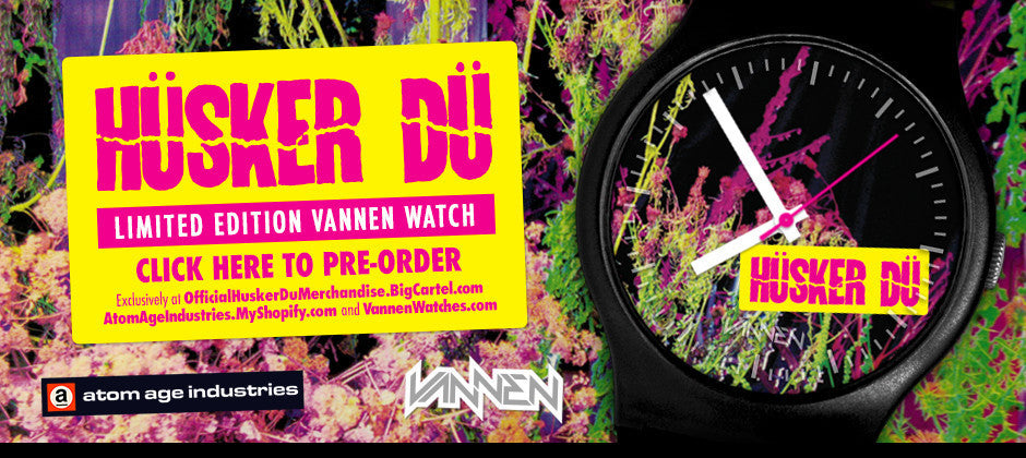Limited Edition Husker Du Vannen Artist Watch Now Available for Pre-Order