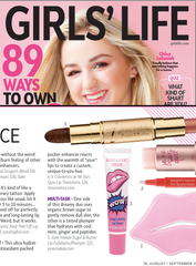 Girls Life - Aug 2017 - Bear Lip Gloss