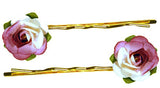 Rose Bud Bobby Pin