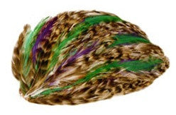 Kelly Purple Feather Clip