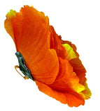 Sunkist Flower Pin