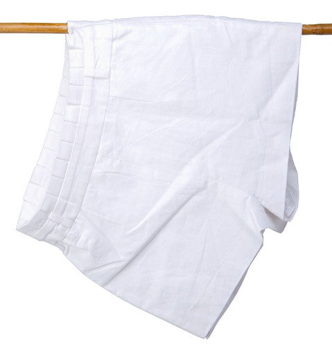 Linen Pleat Shorts