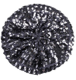 Metallic Sequin Beret
