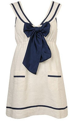 Sailor Tie Dress