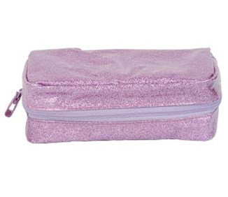 Lavender Sparkle Cosmetic Bag