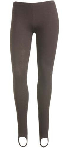 Brown Stirrup Legging