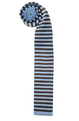 Chocolate Striped Tie