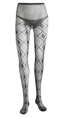Diamond Check Tights