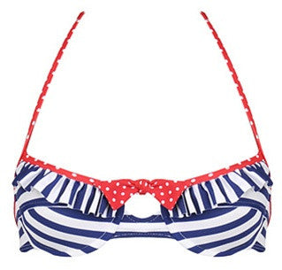 Anchors Away Bikini Top
