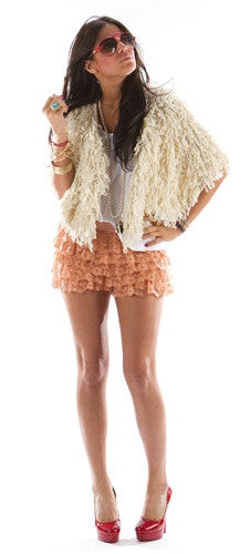 Tiered Lace Shorts