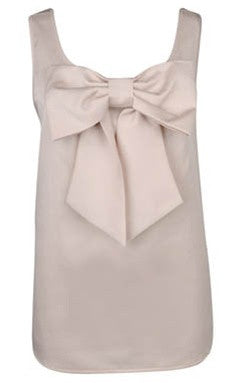 Satin Bow Top