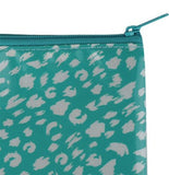 Paintstroke Leopard Cosmetic Bag