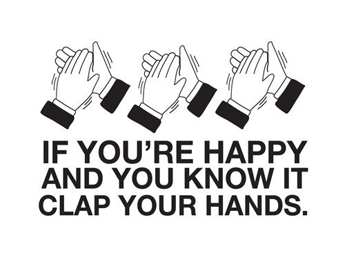 Happy Clap Card
