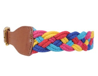 Mexican Color Block Belt