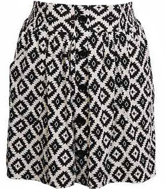 Tribal Geo Skirt