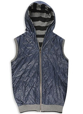 Striped Reversible Vest