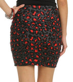 Fierce Leopard Skirt