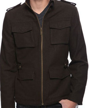 Zippered Utility Jacket