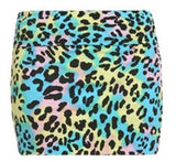 Leopard Color Pop Skirt