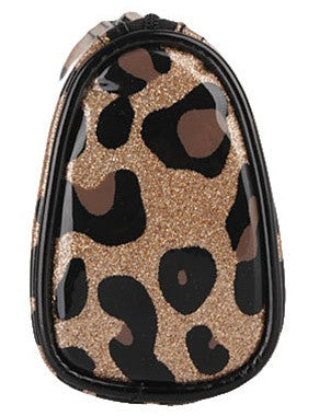 Leopard Glitz Cosmetic Bag