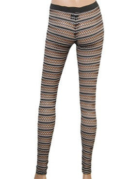 Spherical cutout Leggings
