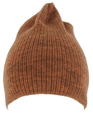 Burnt Orange Knit Beanie